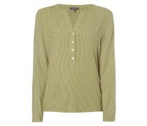 Blusenhirt mit Allover-Muster