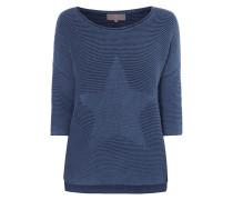 Pullover mit eingestricktem Stern