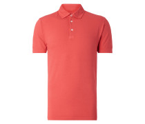 Poloshirt aus Baumwoll-Elasthan-Mix