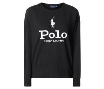Sweatshirt mit Logo-Prints