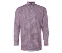 Modern Fit Hemd mit Allover-Muster