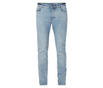 Bleached Slim Fit Jeans