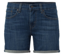 Rinsed Washed 5-Pocket-Jeansshorts