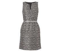 Kleid aus Brokat mit Tupfenmuster