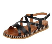 Sandalen in Leder-Optik