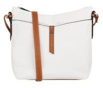Handtasche mit Logo-Detail Modell 'Novara'
