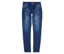 Skinny Fit Stone Washed Jeggings