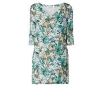 Kleid aus Baumwoll-Seide-Mix