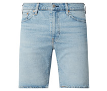 Tapered Fit Jeansshorts mit Stretch-Anteil