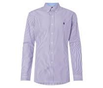 Slim Fit Hemd mit Streifen-Dessin