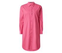 Hemdblusenkleid mit Stretch-Anteil