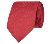 Krawatte mit feinem Tupfenmuster