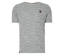 T-Shirt mit Streifenmuster im Vintage Look