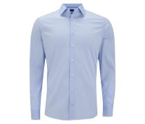 Slim Fit Business Hemd mit Stretch-Anteil