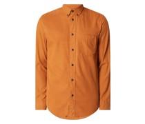 Regular Fit Freizeithemd aus Twill Modell 'Clark'