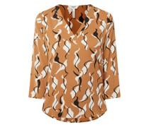 Blusenshirt aus Krepp Modell 'Helena'