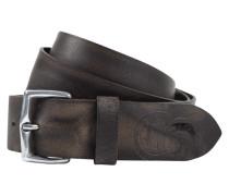 Gürtel aus Leder im Vintage Look