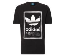 T-Shirt mit beidseitigem Logo-Print