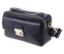 Crossbody Bag aus Leder mit Frontfach