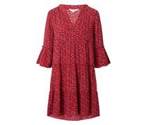 Minikleid aus Viskose