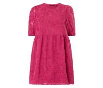 PLUS SIZE Kleid mit feinen Fransen Modell 'Faroas'