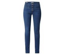 Shaping Skinny Fit Jeans mit Stretch-Anteil Modell '311'