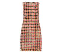 Kleid mit stilisiertem Karomuster