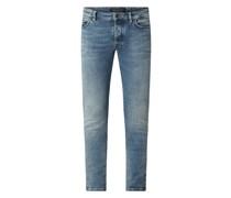 Skinny Fit Jeans mit Stretch-Anteil Modell 'Jaz'