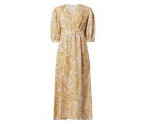 Kleid aus Viskose-Leinen-Mix Modell 'Ceres'
