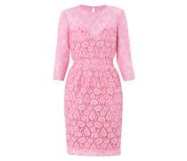 Kleid aus Spitze mit Leoparden-Muster