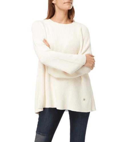 Pullover mit Rückseite in Wickeloptik