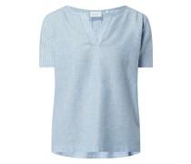 Blusenshirt mit Tunikakragen Modell 'Agneta'