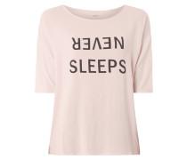 Pyjama-Oberteil mit Print