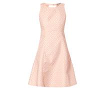 Kleid mit floralem Muster im Retro-Look