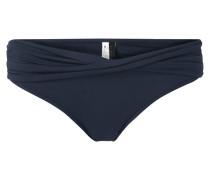 Bikinislip mit Besatz in Wickeloptik