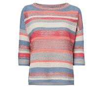 Pullover aus Lochstrick