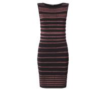 SL RN MINA SWEAT - Kleid mit Lurex-Streifenmuster
