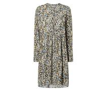 Kleid aus Viskose Modell 'Ditsy'