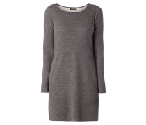 Kleid aus Wollmischung mit Stretch-Anteil