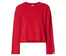 Boxy Fit Pullover mit überschnittenen Schultern