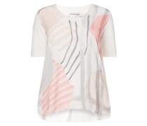 PLUS SIZE - Shirt mit Kontrastvorderseite