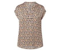 Blusenshirt mit Allover-Muster Modell 'Odiana'