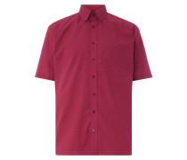 Comfort Fit Hemd mit kurzem Arm