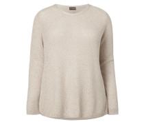 PLUS SIZE - Pullover aus Mouliné