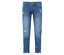 Relaxed Fit 5-Pocket-Jeans im Destroyed Look