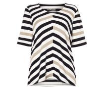 PLUS SIZE - Shirt mit Streifenmuster