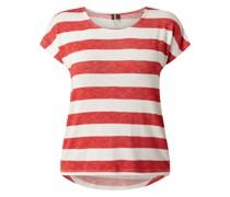 Shirt mit Blockstreifen Modell 'Wide Stripe'