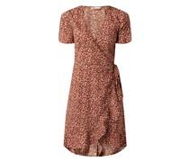Wickelkleid aus Krepp Modell 'Olivia'