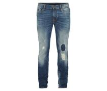 Destroyed Look Skinny Fit 5-Pocket-Jeans