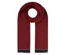 Schal mit Logo-Muster Modell 'Farid'